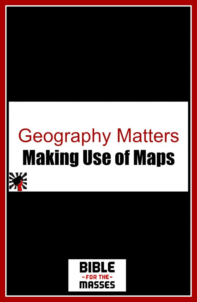 Learn why geography is important in Bible study and how you can use maps to better understand the Bible.