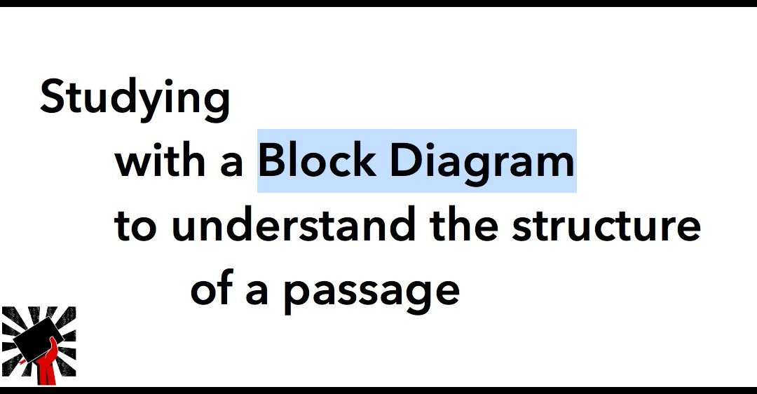 Studying with a Block Diagram