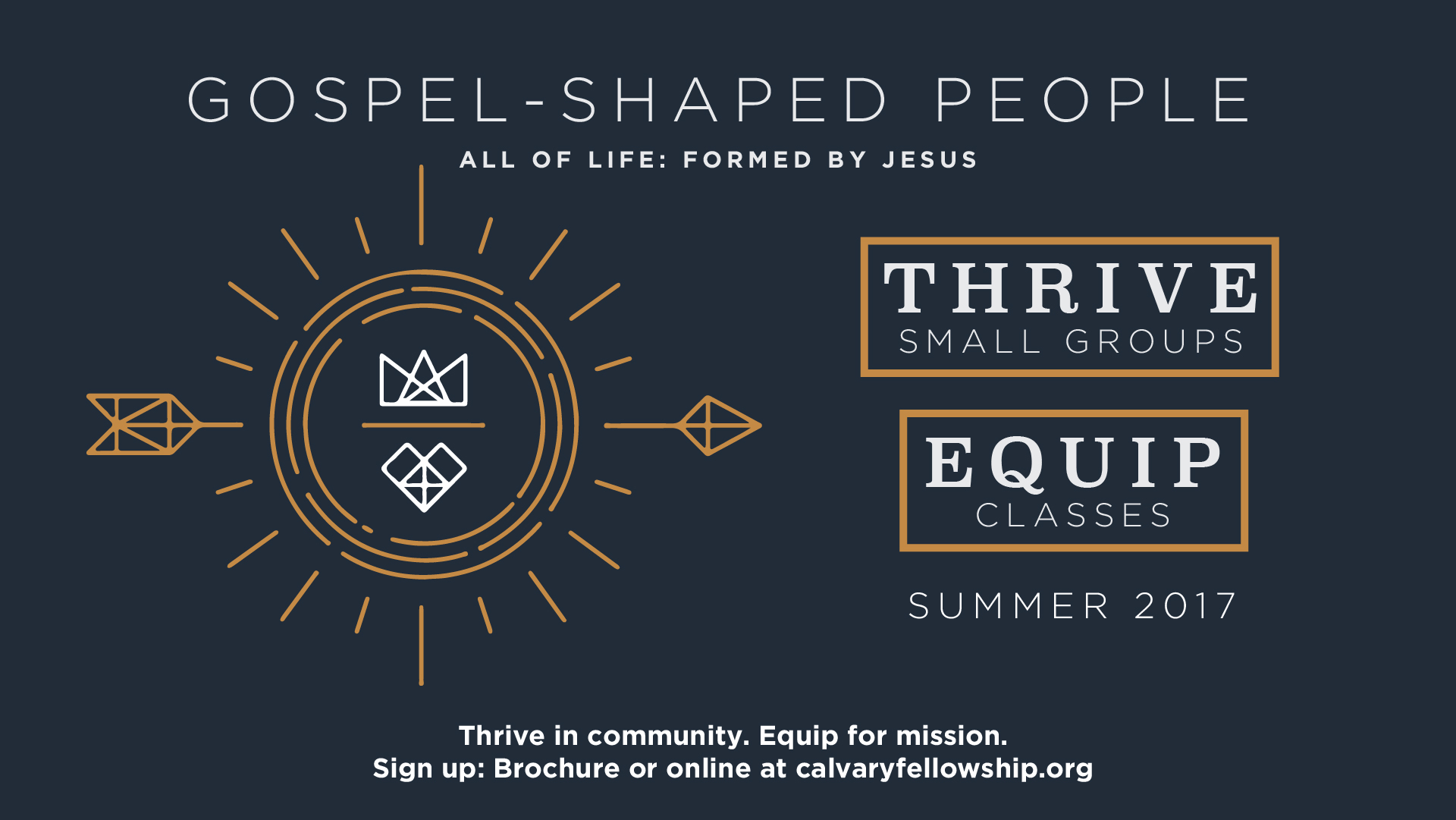 Thrive & Equip Summer 2017