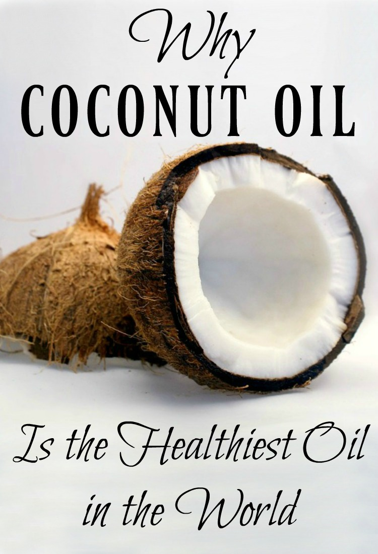 Coconut oil the one of the hottest oils on the market. Find out why coconut oil is the healthiest oil in the world and then go get some for yourself!