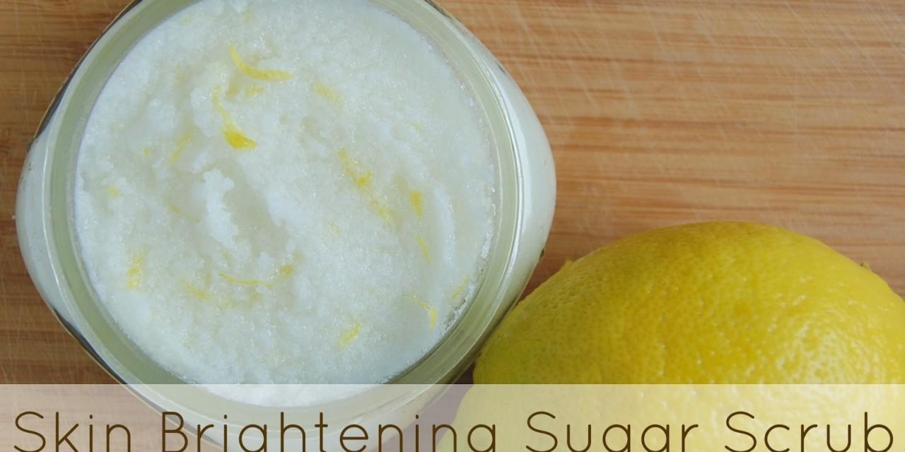Skin Brightening Sugar Scrub