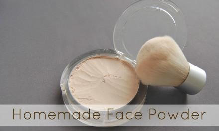 Homemade Face Powder