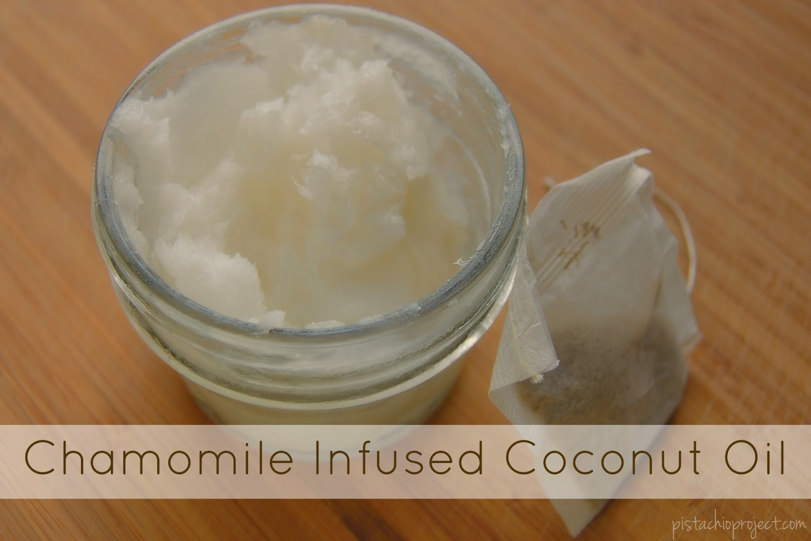 Chamomile Infused Coconut Oil