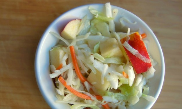 Crisp Apple Coleslaw