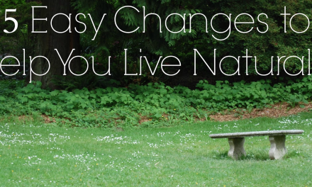 5 Easy Changes to Help You Live Naturally