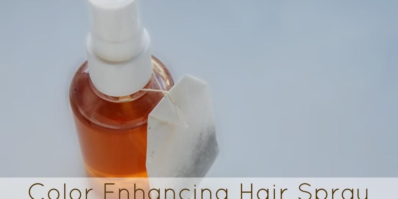 Color Enhancing Hair Spray