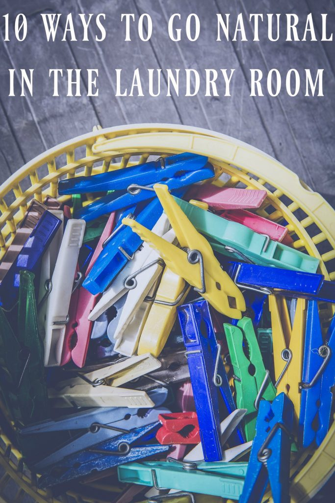 10 Ways to Go Natural in the Laundry Room - Ready to ditch the toxins and the waste while washing clothes? All of these are simple changes to make!