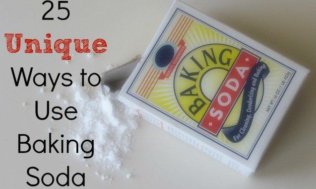 25 Unique Ways to use Baking Soda