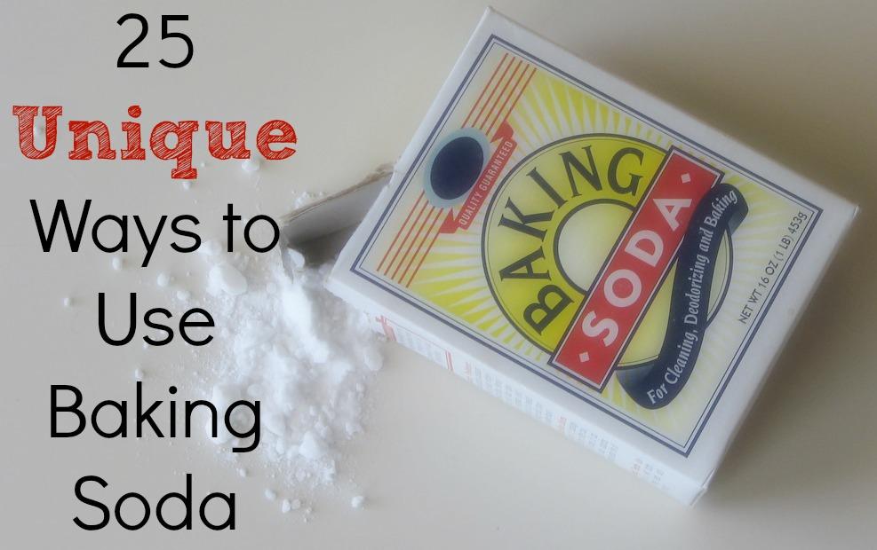 25 Unique Ways to use Baking Soda