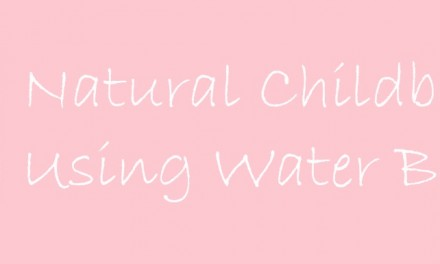 Natural Childbirth Using Water Birth