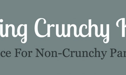 Loving Crunchy Kids, Advice for Non-Crunchy Parents – Part 1