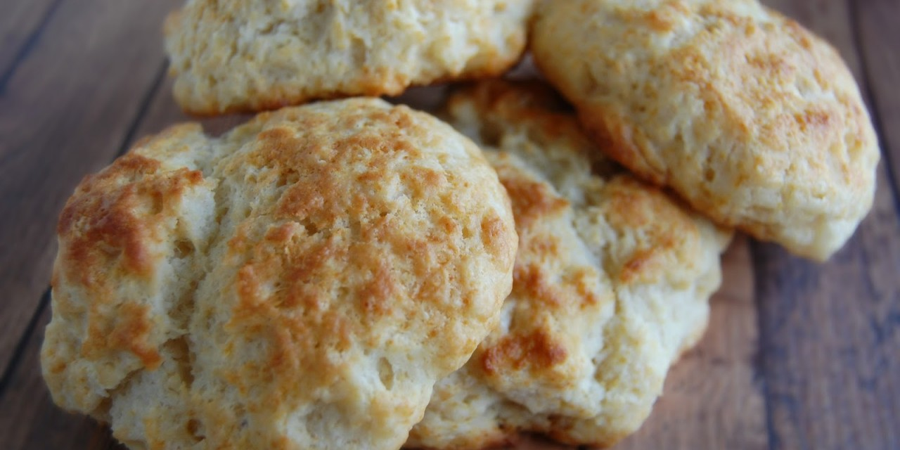 Coconut Oil Drop Biscuits