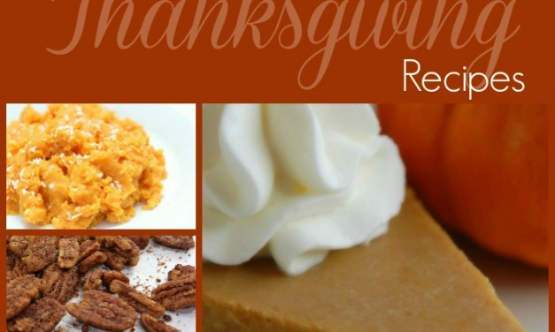 Real Food Thanksgiving Recipes
