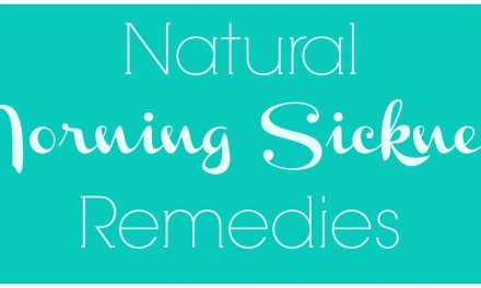 Natural Morning Sickness Remedies