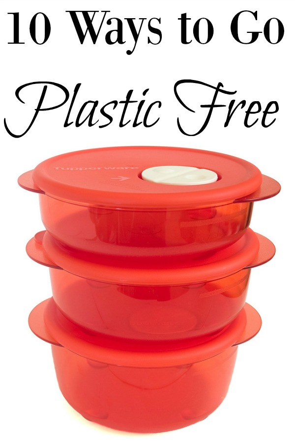 10 Ways to Go Plastic Free - Dive in and replace all your plastic products, take it slow and do one a month, or just do one and call it good for now; choose the pace that fits you!