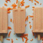 Probiotic Carrot Cake Popsicles
