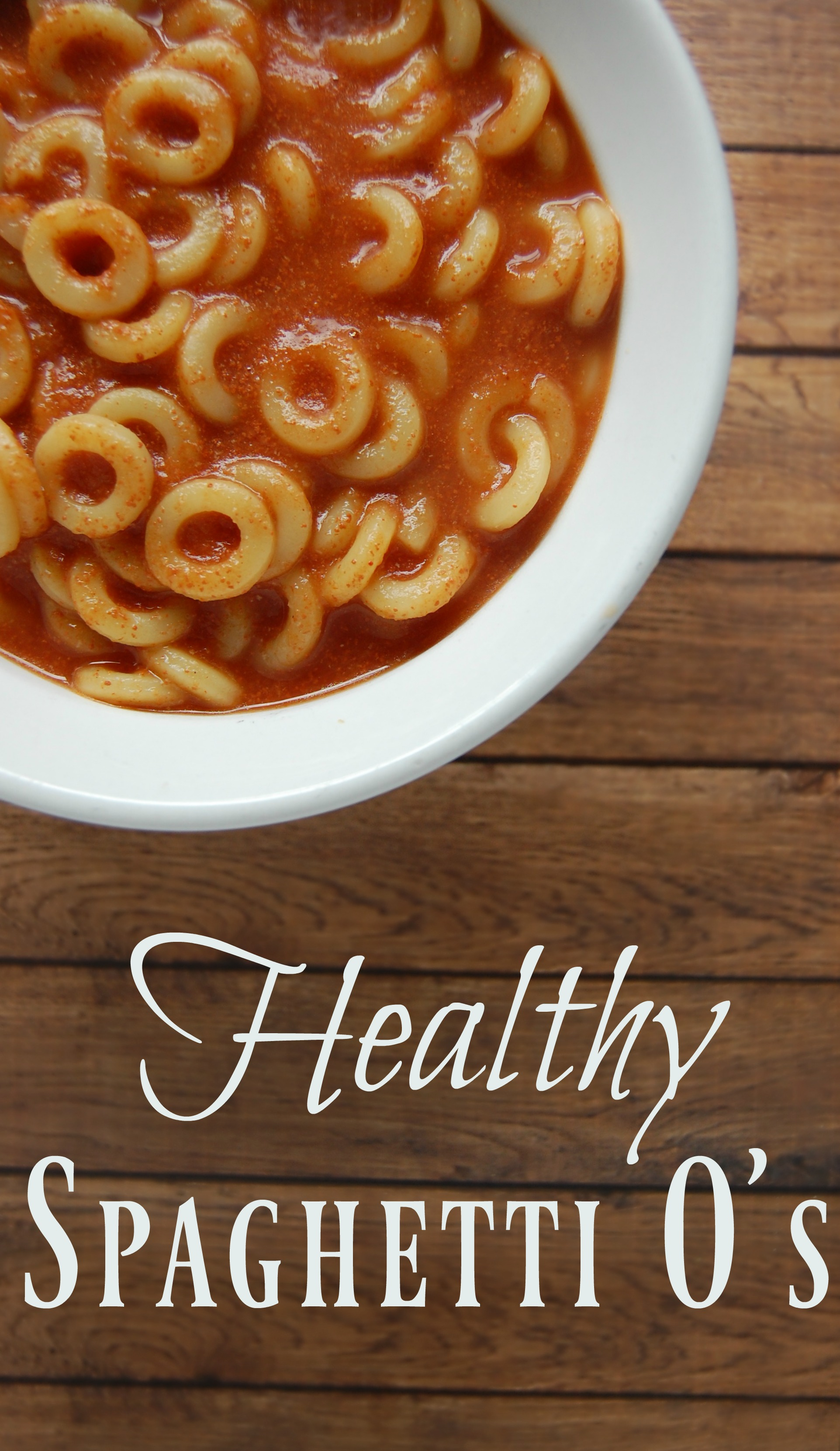 Healthy Spaghetti O's - Awesome! Let your kids have Spaghetti O's! No guilt here with this BPA free, HFCS free, real food spaghetti o recipe! You can even make it dairy free!