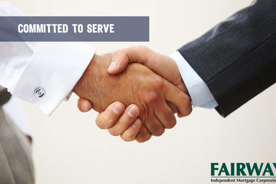 handshake- Committed to Serve