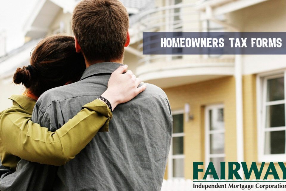 Homeowners Tax Forms