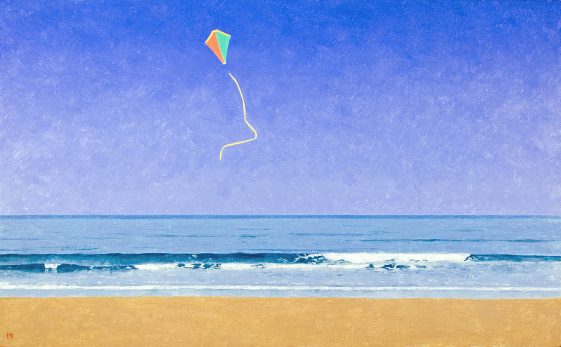 The Kite: a villanelle on my fear of falling into the sky