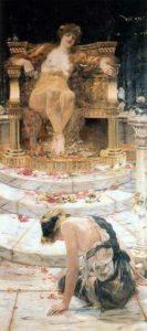Psyche at the Throne of VenusEdward Matthew Hale, 1883