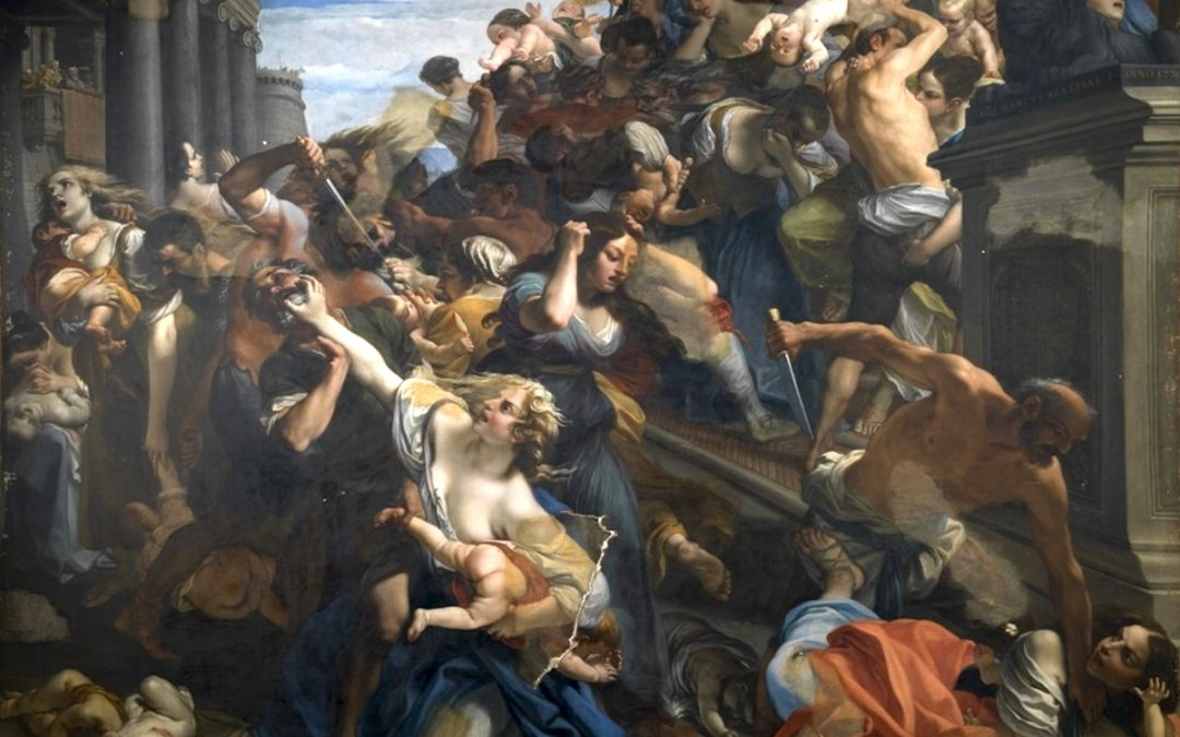 The Massacre of the Innocents by Rusten Harris
