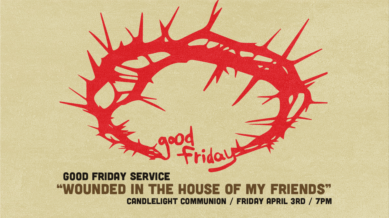 Good Friday: Wounded in the House of My Friends