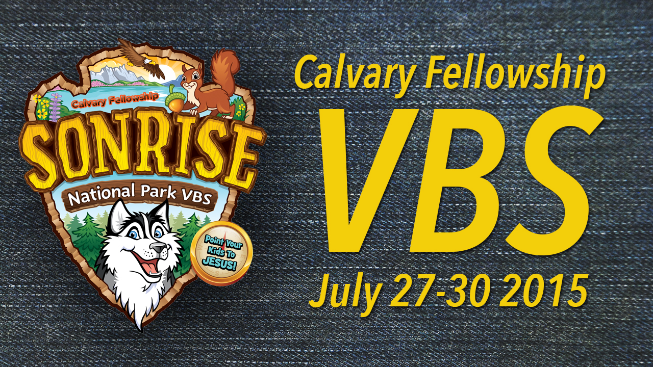 Sonrise National Park VBS 2015
