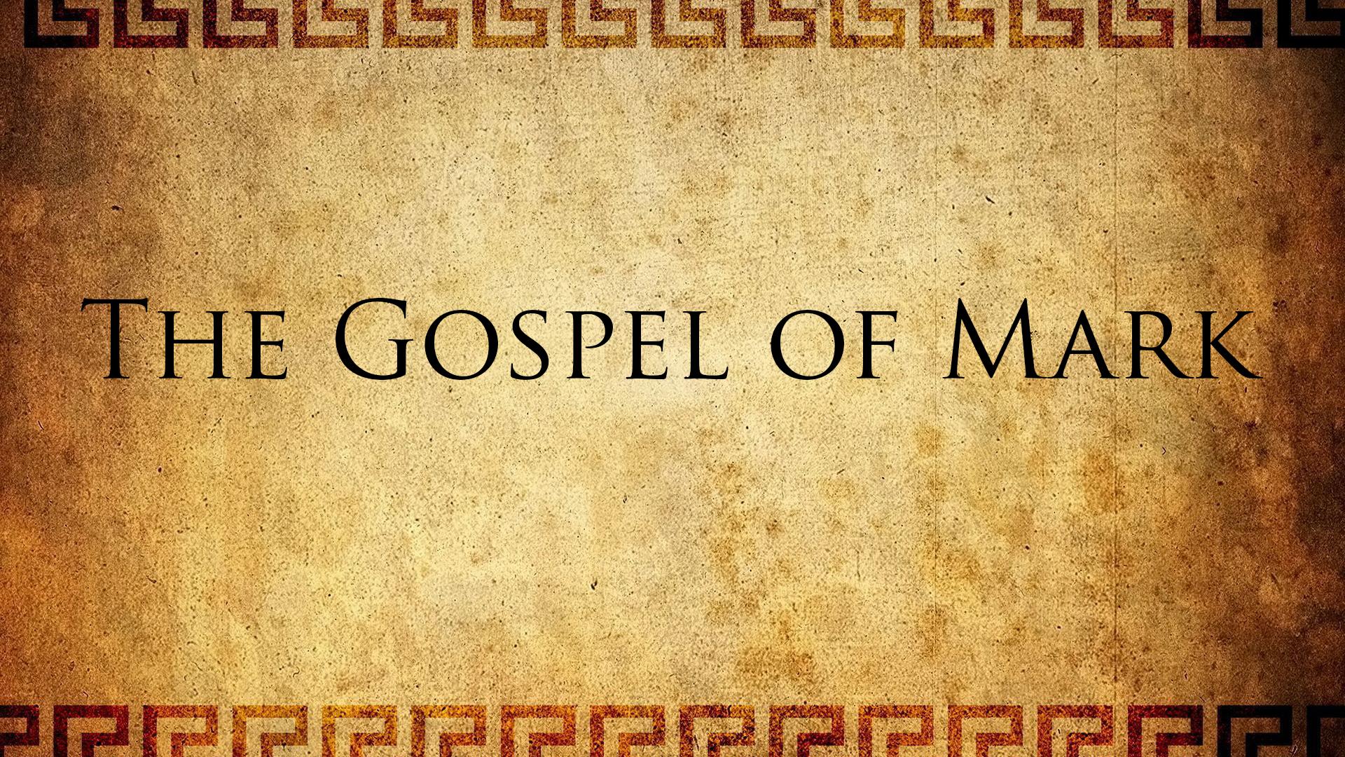 Mark 1 1 >> The Gospel Of Mark 1 1 15 Calvary Snohomish