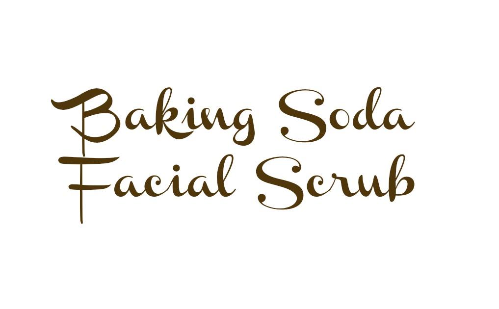 Baking Soda Facial Scrub 28