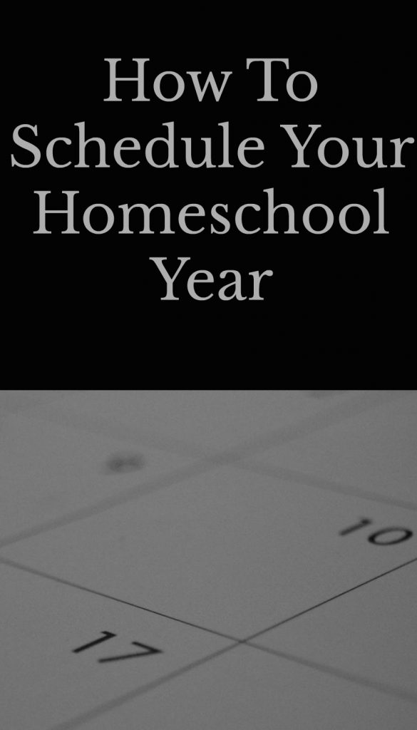 Here are 7 different homeschool schedule options because there is no right or wrong schedule. It really just depends on what will work best for your family.