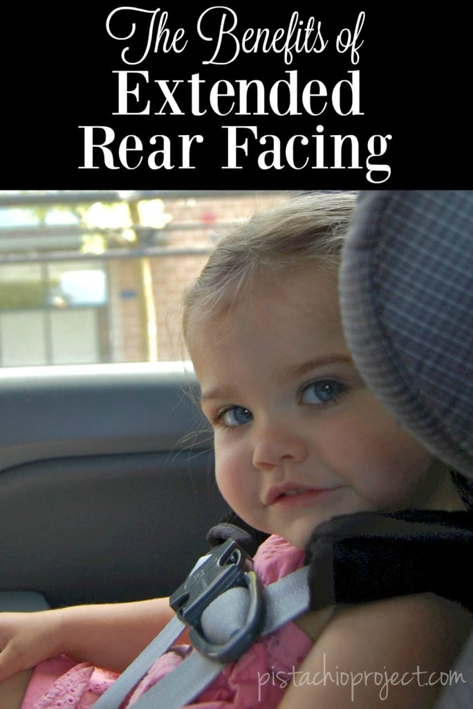 The Benefits Extended Rear Facing - Did you know that Kids who continue riding rear facing from just ages 1 – 2 years are 5 times safer than their forward facing friends?