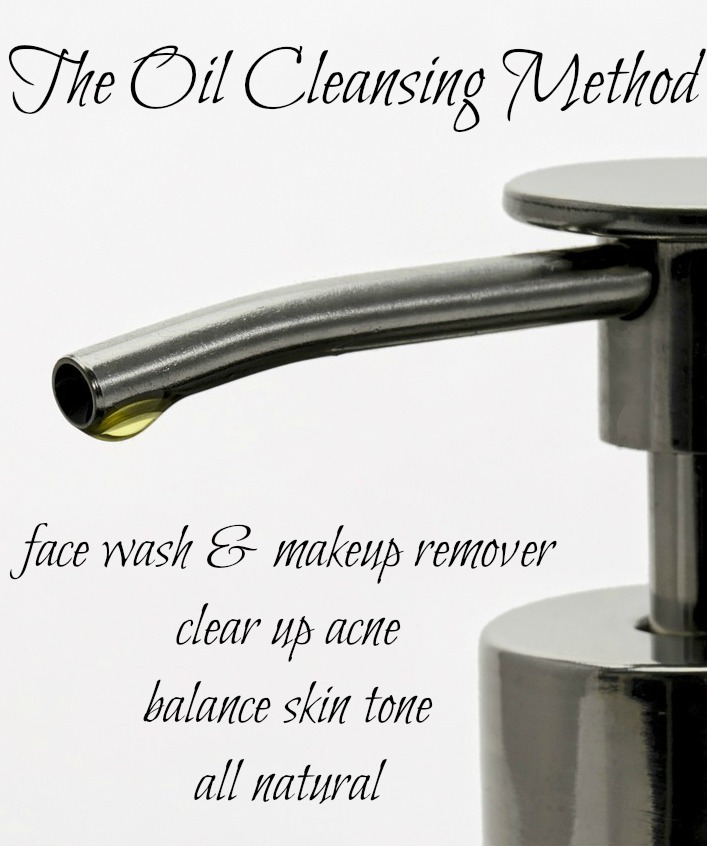 The Oil Cleansing Method - Find out how washing your face with oil will help fight acne, balance skin tone, and hydrate  your skin. I LOVE this way of cleaning my face.  Works so well and I love that it works as a makeup remover too!