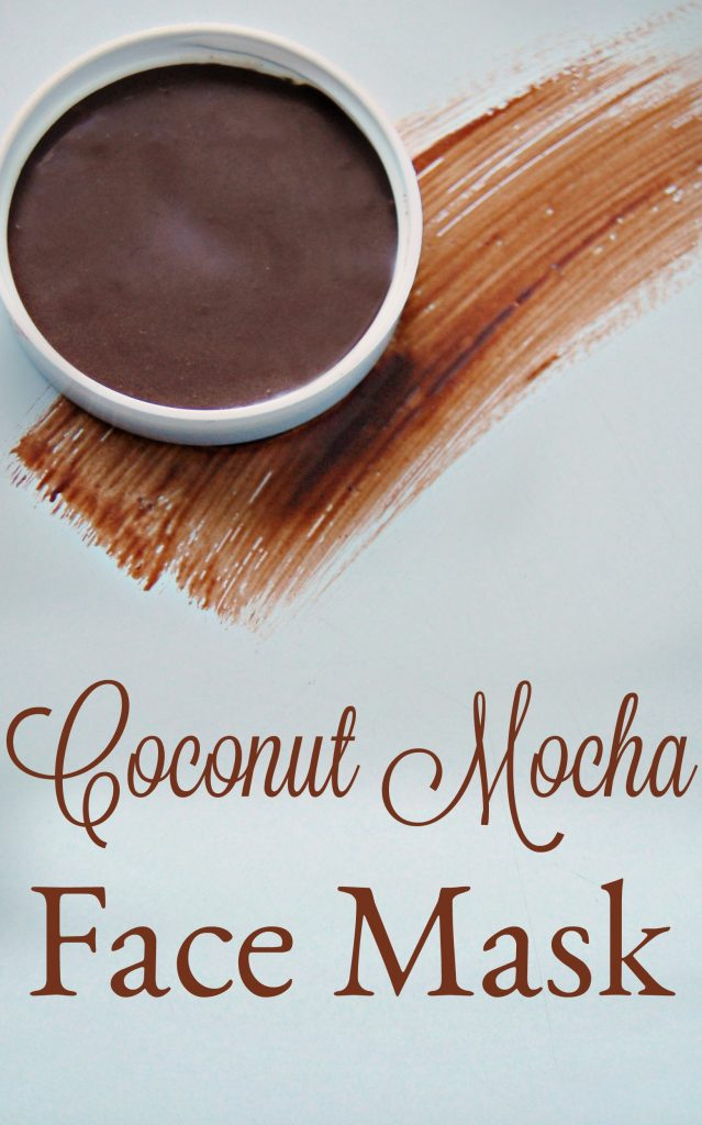 Chocolate, coffee, and coconut, what's not to love about that combination? This mask isn't all about the wonderful aroma however. This coconut mocha face mask has benefits and lots of them!