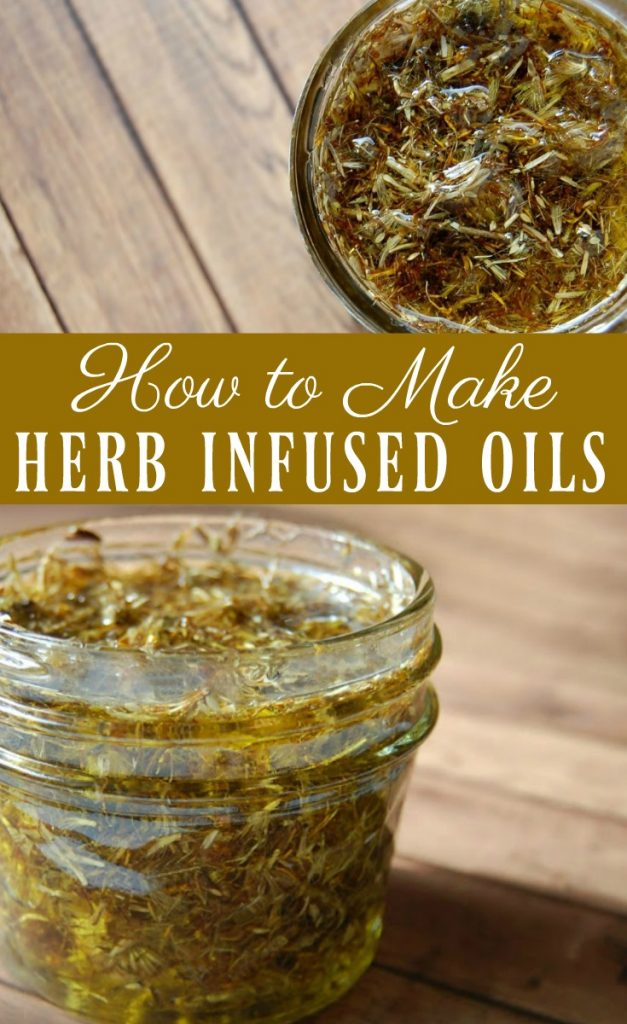 Infusing oils are a great way to use herbs for cooking but herb infused oils are amazing for medicinal purposes! The types of herbs you use will naturally results in different infused oils. This opens up so many possibilities and many different remedies can be made but all infused oils use the same basic methods when being made. Learn how to make herb infused oils.