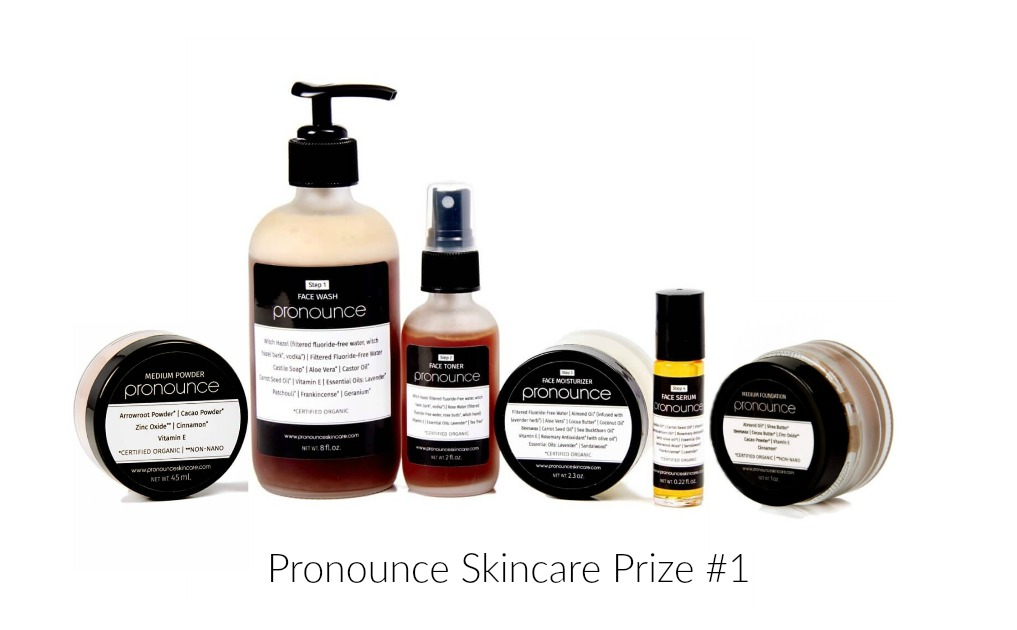 Pronounce Skincare Prize 1