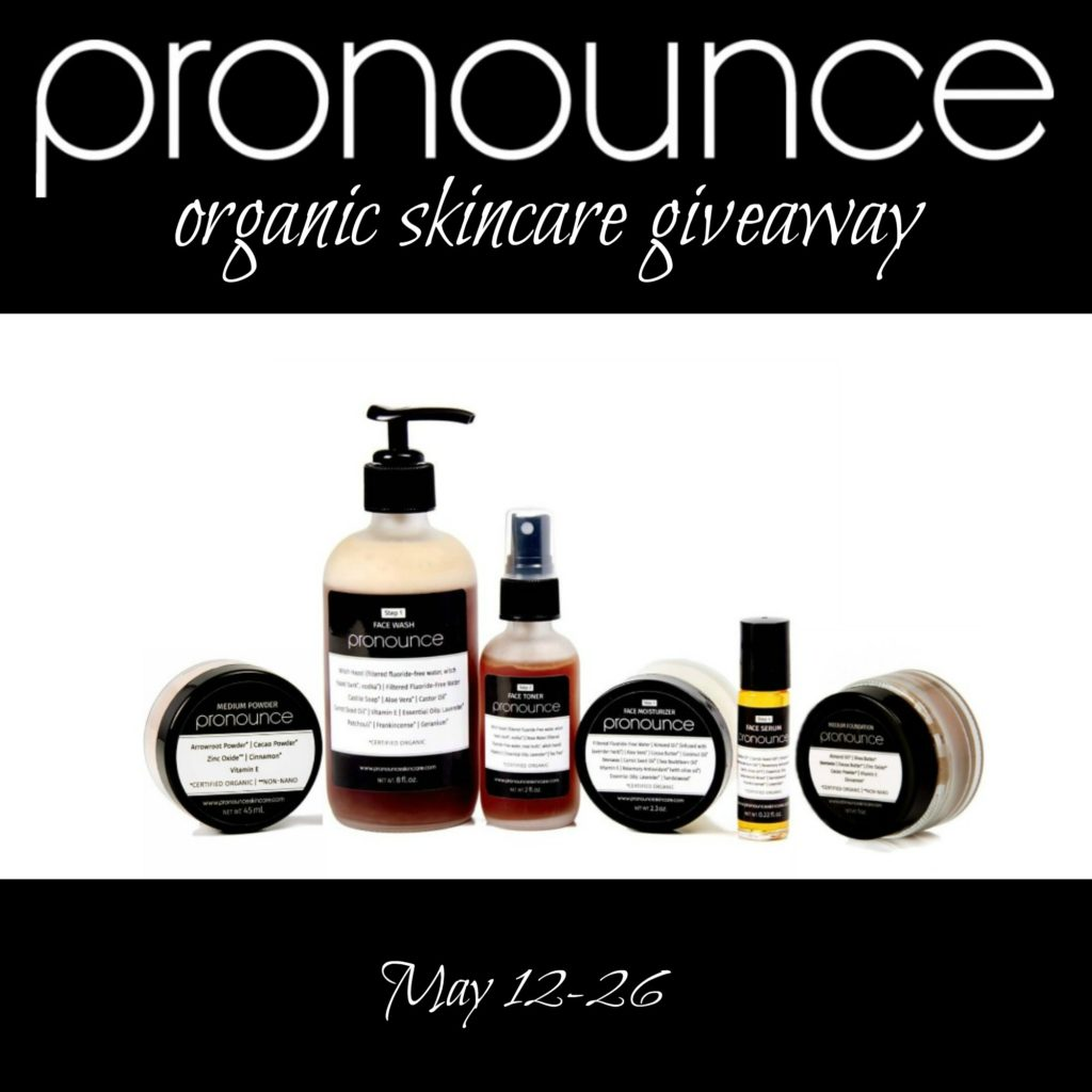 Pronounce Skincare Giveaway