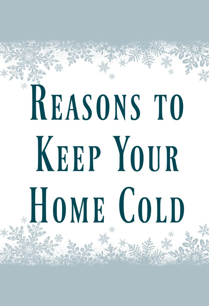 Reasons to Keep Your Home Cold - I think we are all aware that using the heater less means more money saved but there are actually a few other reasons to keep your home thermostat set just a bit lower this season!