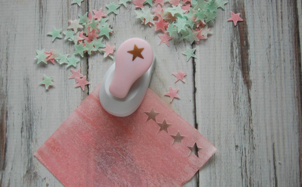 DIY Christmas Bath Confetti