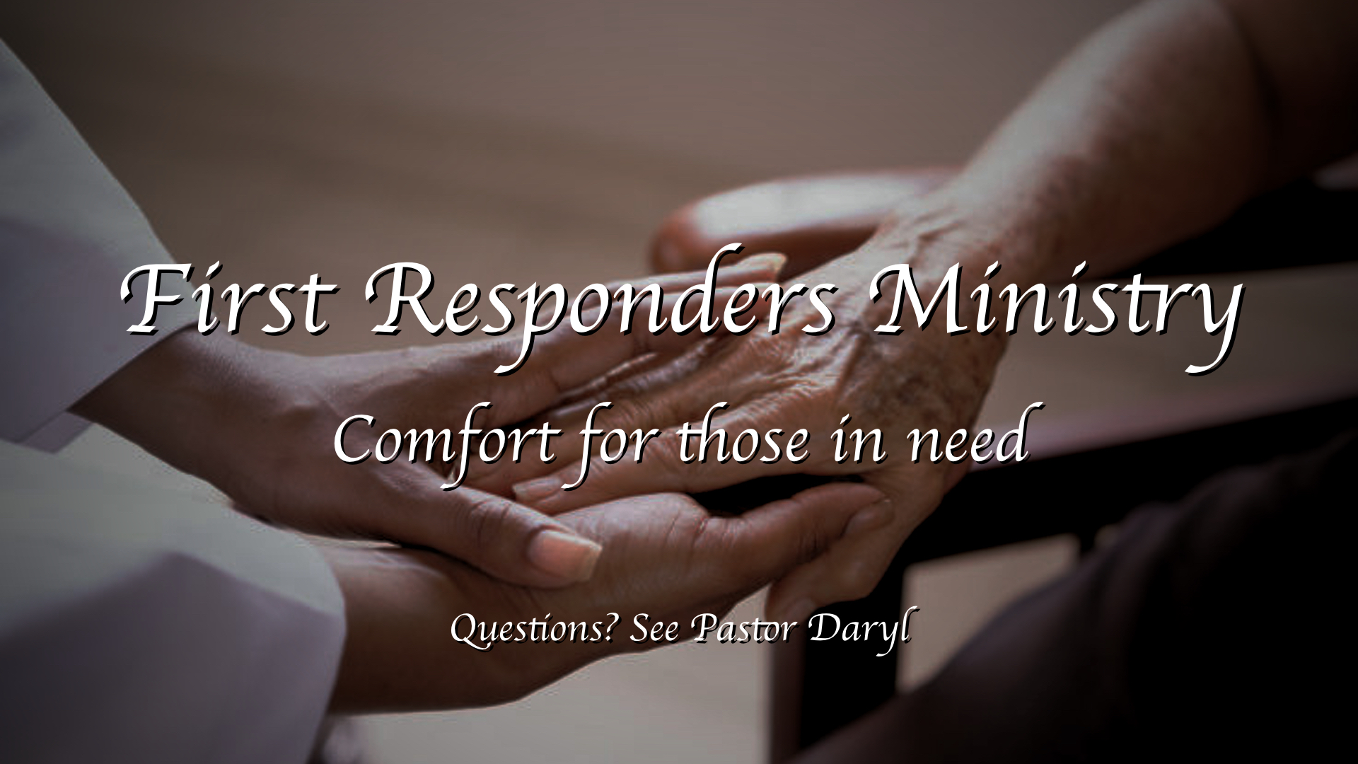 First Responders Ministry Slide
